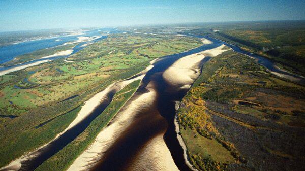 Река Лена. Архив