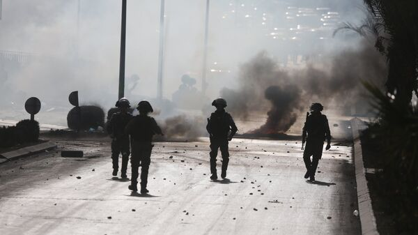 Ситуация на границе Палестины и Израиля. Архивное фото
