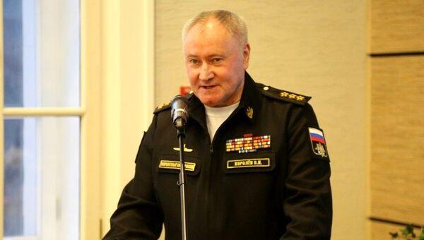 Главком ВМФ адмирал Владимир Королев. Архивное фото
