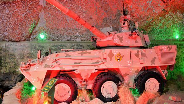 Военная техника Национальной гвардии Кувейта на международной выставке вооружения и военной техники Gulf Defence & Aerospace-2017 в Эль-Кувейте