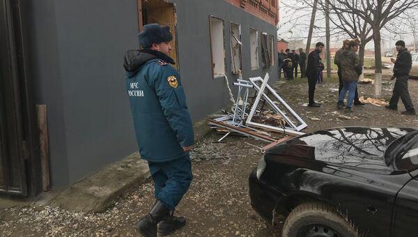 Взрыв бытового газа в Гудермесском районе Чеченской Республики. 13 декабря 2017
