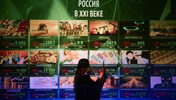 Открытие мультимедийного парка Россия - моя история в Новосибирске