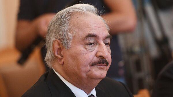 Командующий Ливийской национальной армией Халифа Хафтар