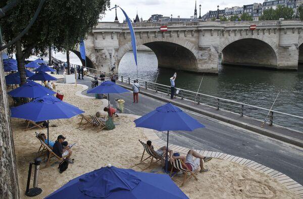 Парижский пляж