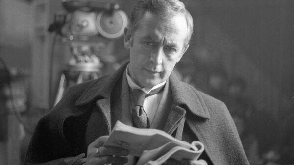 Заслуженный артист РСФСР Василий Ливанов. Архивное фото