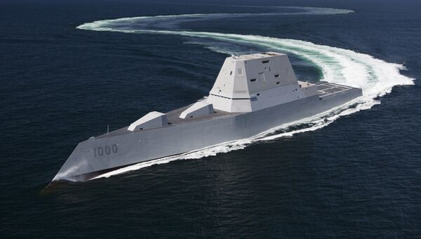 Эскадренный миноносец ВМС США типа Замволт (Zumwalt)