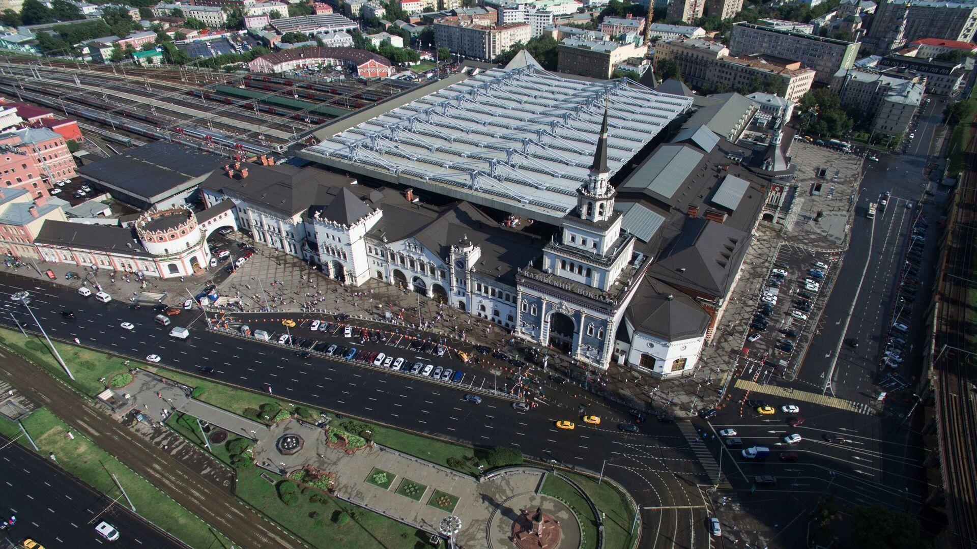 Виды Москвы с высоты птичьего полета - РИА Новости, 1920, 09.04.2021