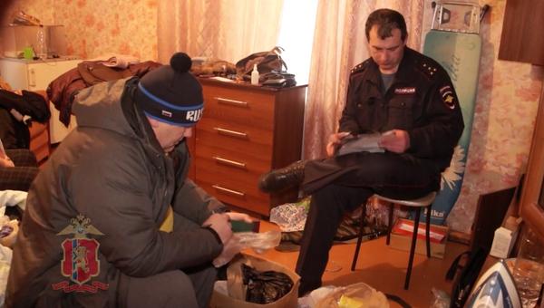 Квартира в Дивногорске в Красноярском крае, где мужчина расстрелял полицейских. 17 декабря 2017
