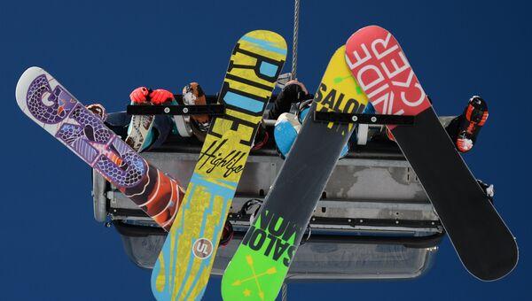 Открытие горнолыжного сезона на курорте Горки Город в Сочи