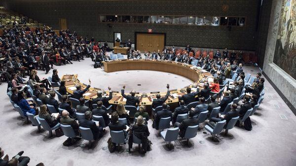 СБ ООН голосует за принятие резолюции о статусе Иерусалима в штаб-квартире ООН. 18 декабря 2017