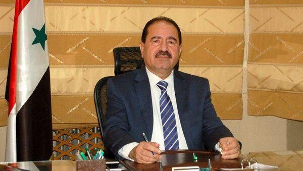 Министр транспорта Сирии Али Хамуд