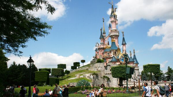 Парк Диснейленд в Париже, архивное фото