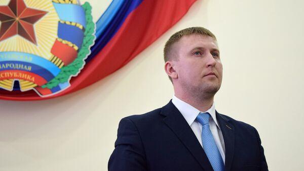Глава Народного Совета ЛНР Денис Мирошниченко. Архивное фото