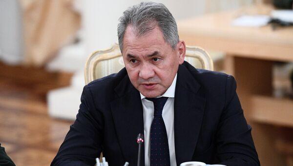 Министр обороны России Сергей Шойгу. 21 декабря 2017