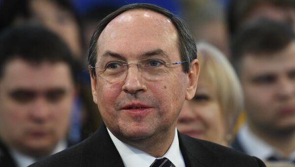 Председатель комитета Государственной Думы РФ по образованию и науке Вячеслав Никонов. Архивное фото