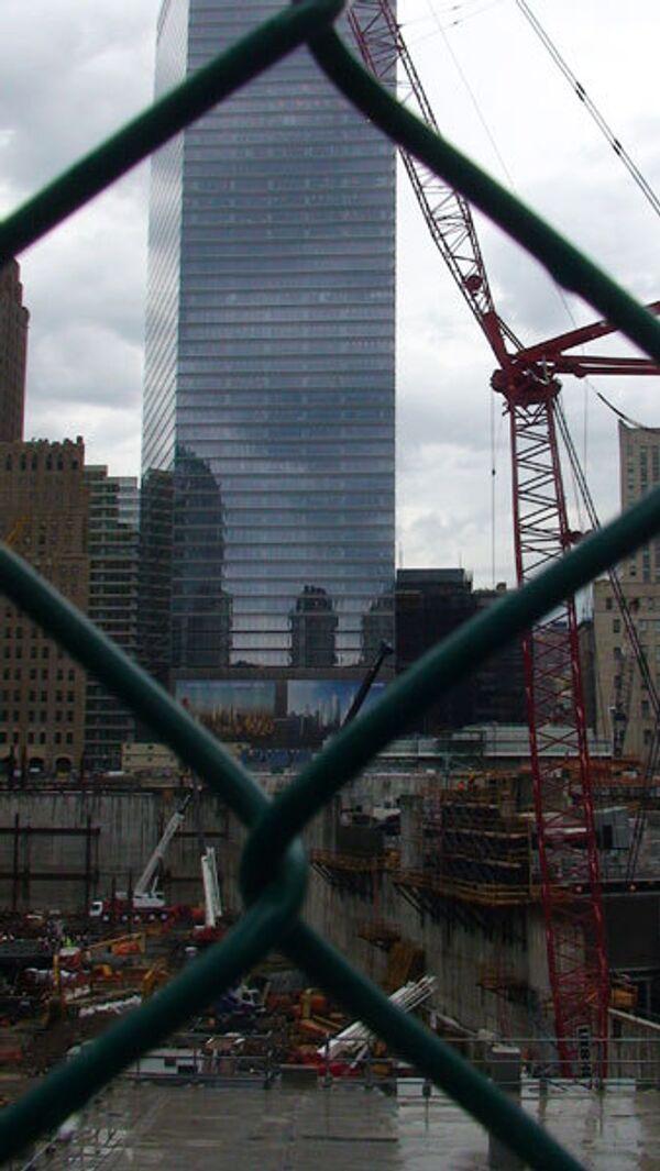 На месте трагедии 11 сентября