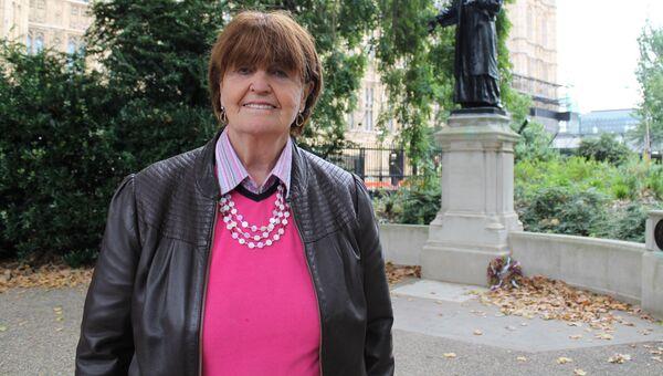 Член палаты лордов и ее бывшая вице-спикер, социолог и правозащитница баронесса Куинсберийская Кэролайн Кокс. Архивное фото
