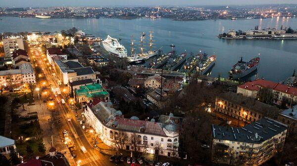Вид на город Севастополь