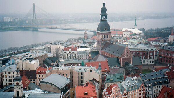 Ситуация в Риге в Латвии. Архивное фото