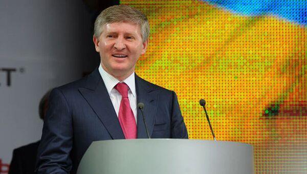 Украинский бизнесмен Ринат Ахметов. Архивное фото