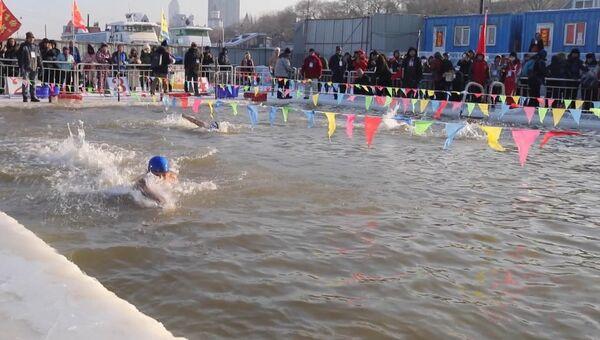 Моржи из Китая, России и США встретились на турнире в Харбине