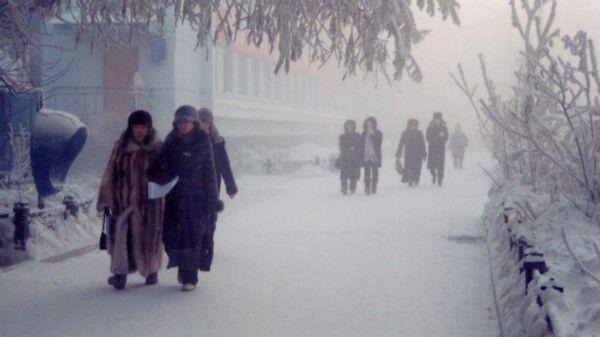 Шестидесятиградусные морозы надвигаются на Якутию