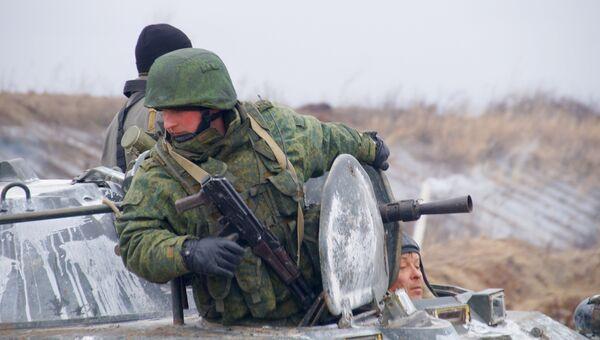 Военнослужащие ЛНР. Архивное фото