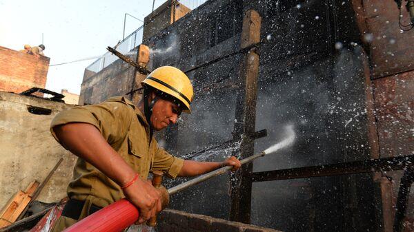 Индийский пожарный