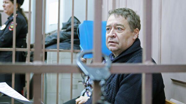 Бывший губернатор Республики Марий Эл Леонид Маркелов в Басманном суде Москвы. 11 января 2018