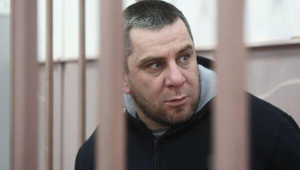 Темирлан Эскерханов в Басманном суде Москвы. 12 января 2018