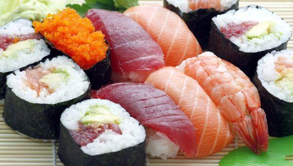 Суши. Архивное фото