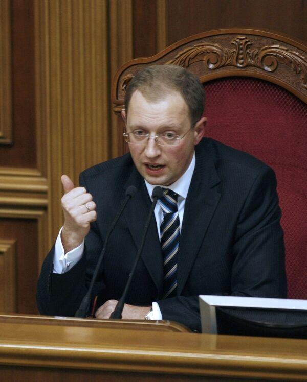 Арсений Яценюк готов выставить свою кандидатуру на выборах президента