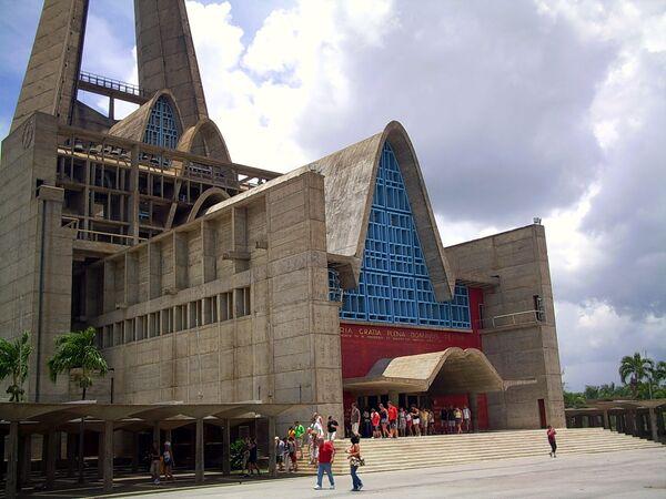 Католическая церковь в Игуэе, Доминиканская Республика
