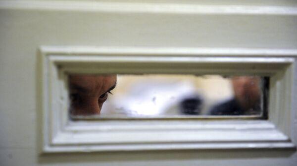 Пациент в палате психиатрического центра