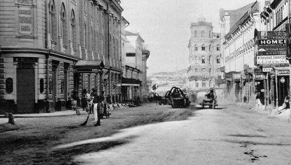 Дом № 5 на улице Ильинке — первый 5-этажный дом в Москве, построенный в 1874 году