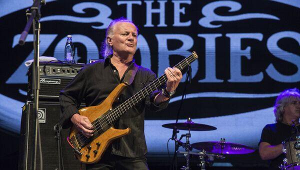 Басист The Kinks и The Zombies Джим Родфорд. Архивное фото