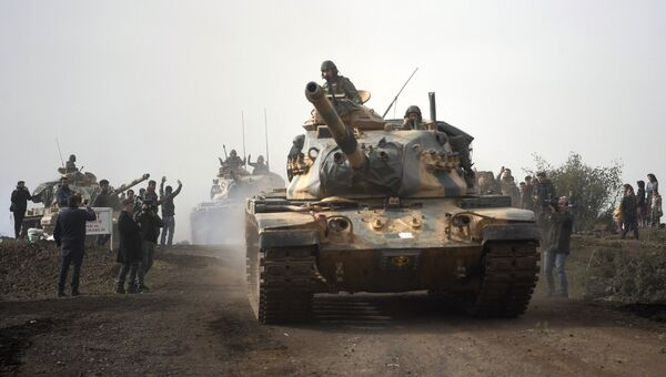 Турецкие танки в Сирии. Архивное фото
