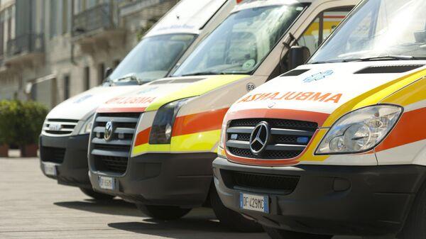 Автомобили скорой помощи в Италии