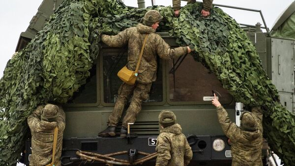 Комплекс ПВО С-400 Триумф заступает на охрану российских воздушных границ в Севастополе