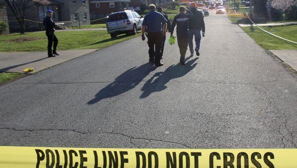 Сотрудники полиции штата Кентукки в Луисвилле, США. Архивное фото