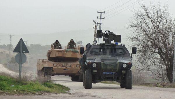 Турецкая военная техника, используемая в операции в Африне. Январь 2018
