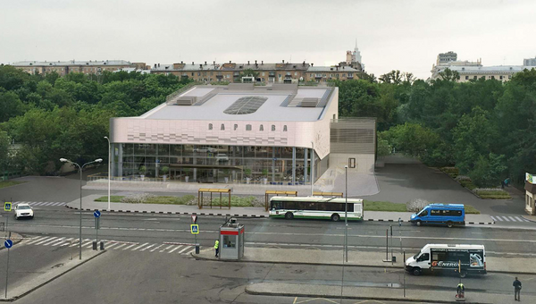 Проект реконструкции кинотеатра Варшава
