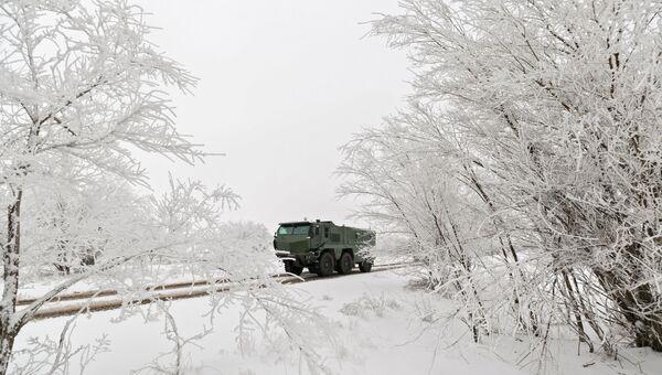 Бронеавтомобиль Тайфун-К. Архивное фото
