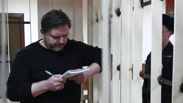 Экс-губернатор Кировской области Никита Белых, обвиняемый во взяточничестве, в Пресненском суде Москвы. 26 января 2018