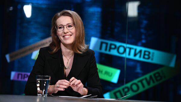Кандидат на президентских выборах в 2018 году Ксения Собчак. Архивное фото