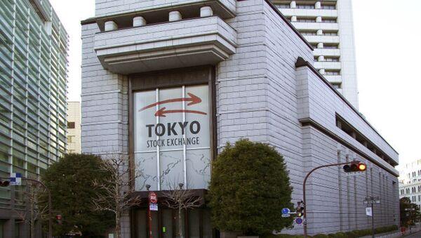 Токийская фондовая биржа. Архивное фото