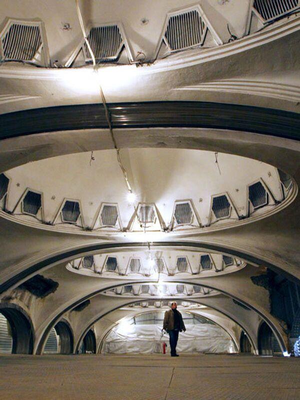 Станция метро Маяковская. Архив