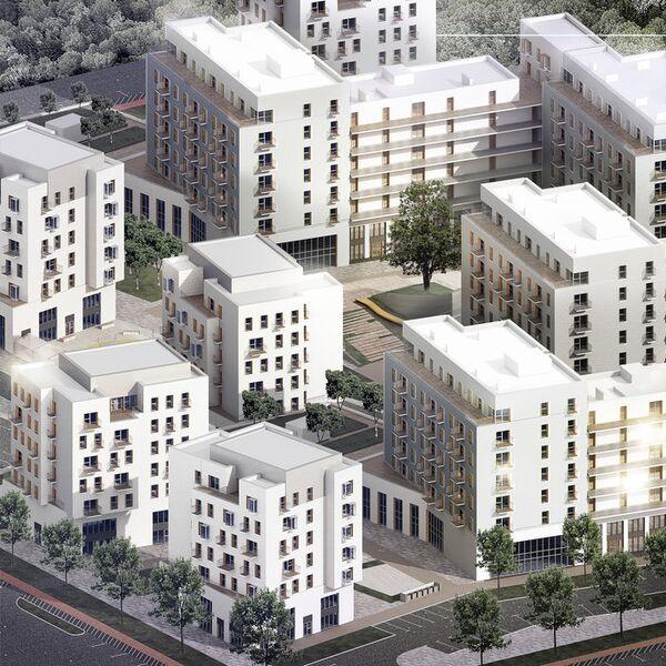 Концепция среднеэтажной застройки от LLC Escher
