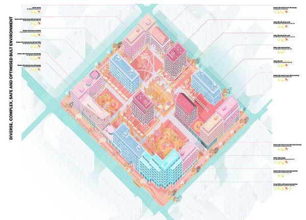 Концепция среднеэтажной застройки от Anarcitects Studio