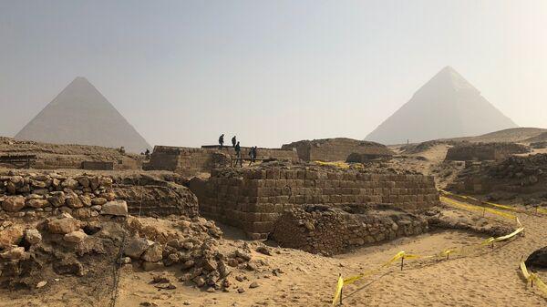 Раскопки в Египте. Архивное фото